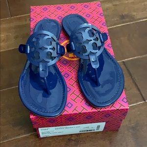 Tory Burch Shoes - New Tory Burch patent leather Miller sandals